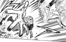 Tomura Shigaraki attacks Endeavor