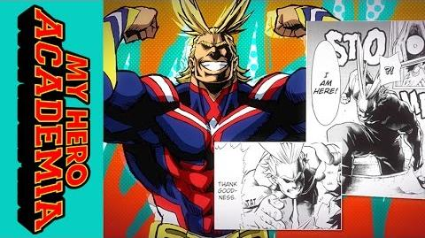 My Hero Academia Roll Call - All Might