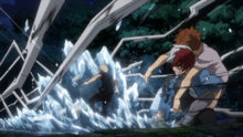 Shoto blocks Moonfish