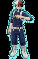 Shoto en My Hero One's Justice