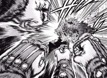 Eijiro Kirishima protects Fat Gum