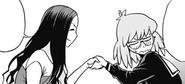 Kazuho accepts the help of Makoto