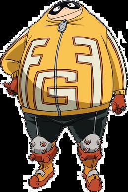 Fatgum anime
