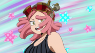 Mei Hatsume excited at Izuku's new style