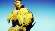 All Might with support items