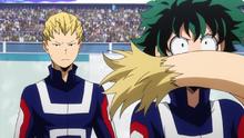 Mashirao stops Izuku from talking