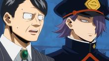 Seiji and his teacher
