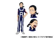 Hiryu Rin TV Animation Design Sheet