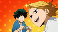 Izuku find that the rope is frayed