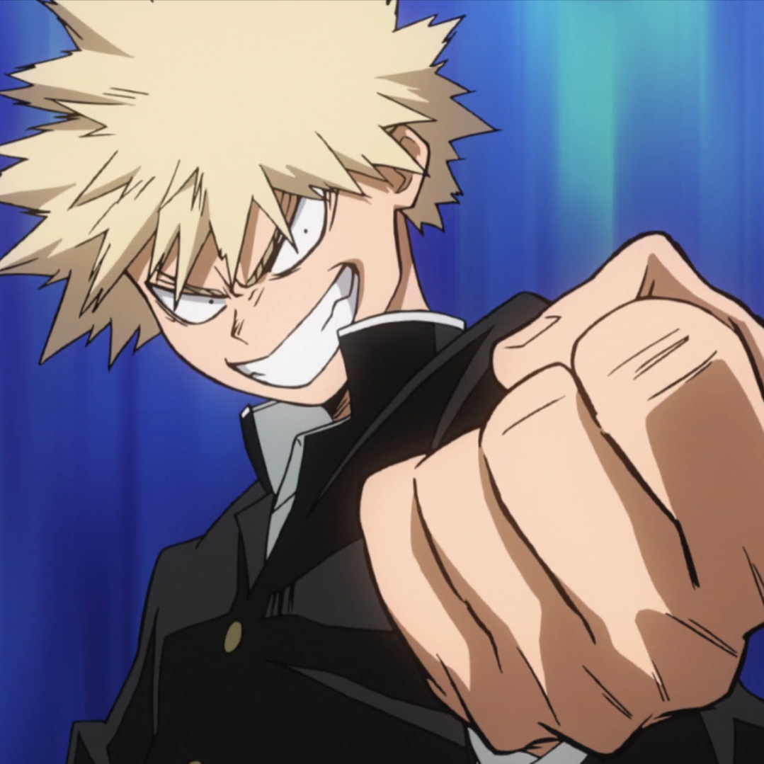Katsuki Bakugo junior high