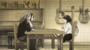 Kyoka talks to her parents