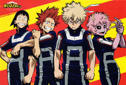 Team Bakugo Season 2 Artwork