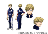 Neito Monoma PE TV Animation Design Sheet