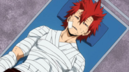 Eijiro is sent to the hospital