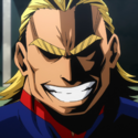 All Might headshot