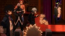 La liga de villanos captura a Katsuki