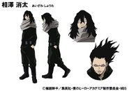 Shota Aizawa TV Animation Design Sheet