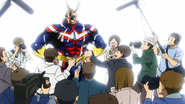 All Might after the Vinegar Incident