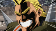 All Might reveals himself as the USJ villain