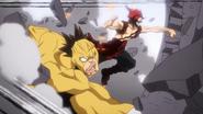 Eijiro and Rikido break cement