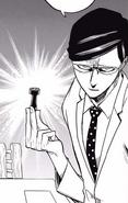 Sir Nighteye challenges Izuku