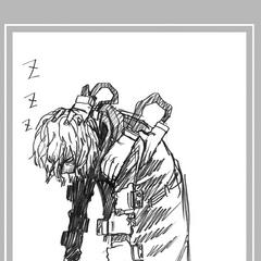 Tomura Shigaraki durmiendo en el Capítulo 227.