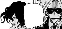 All Might asks Shota to call off the match