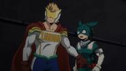 Mirio prevents Izuku from following Overhaul