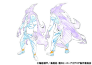 Gang Orca Shading TV Animation Design Sheet