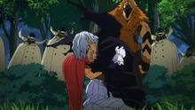 Danjuro Tobita & Manami Aiba surrender (anime)