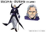 Danjuro Tobita TV Animation Design Sheet