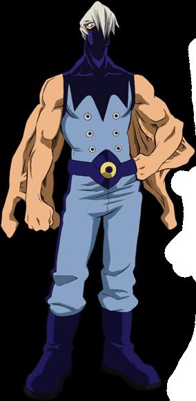 Mezou Shouji Full Body Hero Costume