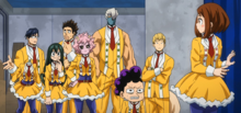 Class 1-A concerned about Izuku