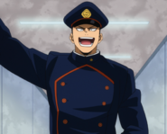 Inasa Yoarashi wearing the school uniform