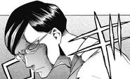 Sir Nighteye glares at Izuku (Manga)