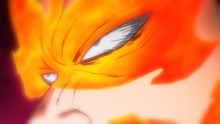 Endeavor's cold eyes