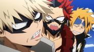 Denki and Eijiro shocked by Katsuki rudeness