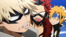 Denki and Eijiro shocked by Katsuki rudeness
