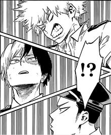 Katsuki, Shoto e Inasa