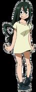 Tsuyu Asui Anime Civilian