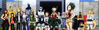 Class 1-A Hero Costumes