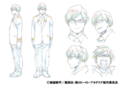 Tenya Iida Shading TV Animation Design Sheet