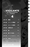 Volume 4 (Vigilantes) Table of Contents