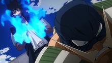Dabi taunts Snatch (Anime)