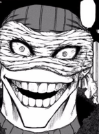 Stain's front face