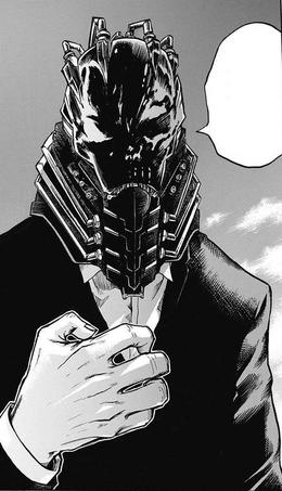 AFO máscara manga