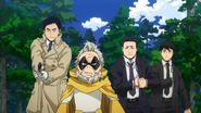 Gran Torino and the Police (Anime)