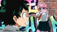 Mina and Izuku