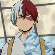 Shoto first costume no mask mugshot