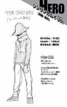 Volume 10 Shinji Nishiya Profile